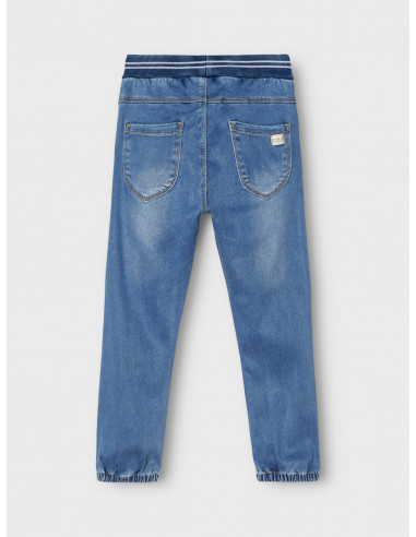 POWER STRETCH BAGGY FIT JEANS